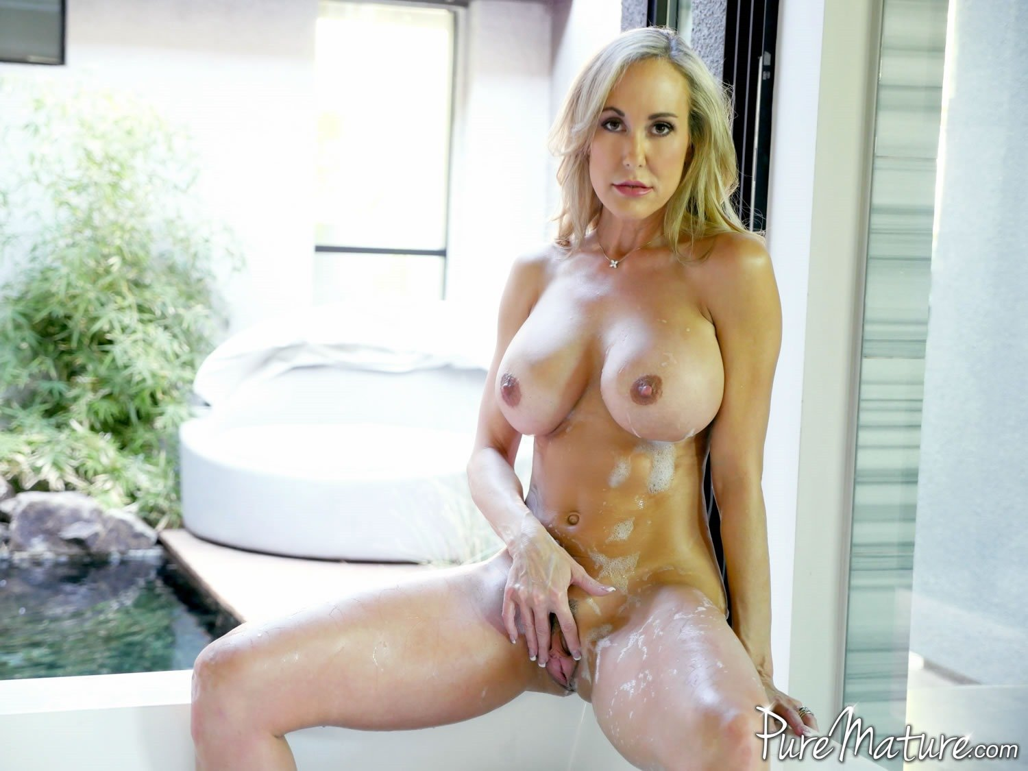 image Puremature milf cory chase fuck amd facial after run in park