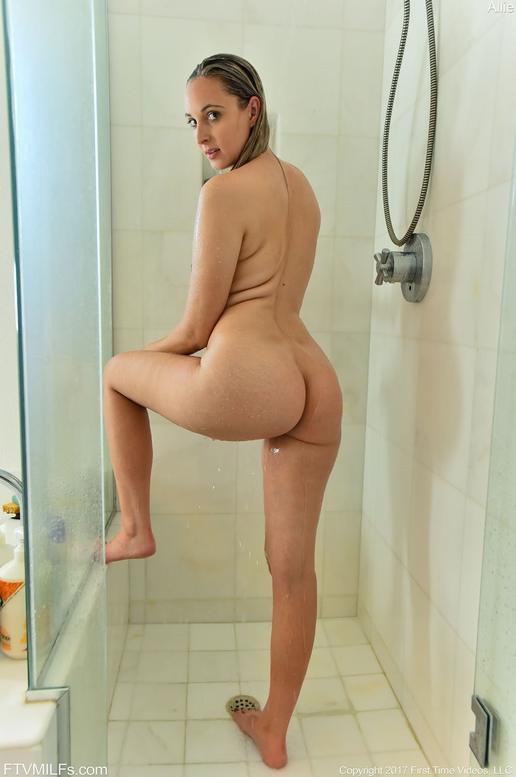 naughty allie shower